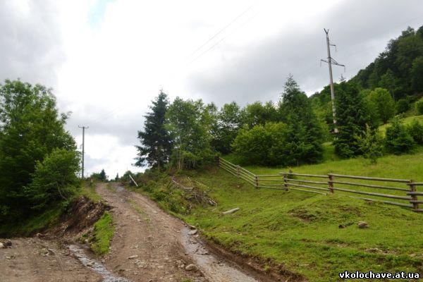 Будівництво дороги, що зв'яже Німецьку Мокру з Колочавою, завершується (ФОТО)